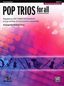 STORY M. POP TRIOS FOR ALL SAXOS TENOR