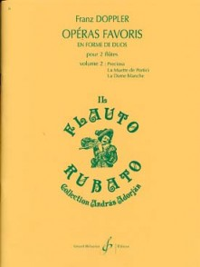 DOPPLER F. OPERAS FAVORIS VOL 2 FLUTES