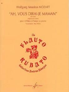 MOZART W.A. AH, VOUS DIRAIS-JE MAMAN FLUTES