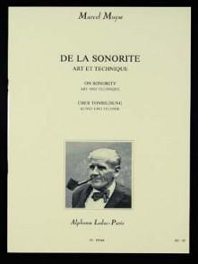 MOYSE M. DE LA SONORITE FLUTE