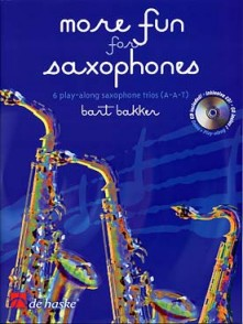 BAKKER B. MORE FUN FOR SAXOPHONES