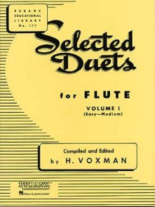 WOXMAN H. SELECTED DUETS VOL 1 FLUTES