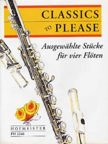 CLASSIC TO PLEASE FLUTES