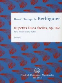 BERBIGUIER B.TR. PETITS DUOS FACILES OP 142 FLUTES