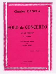 DANCLA C. SOLO DE CONCERTO VIOLON