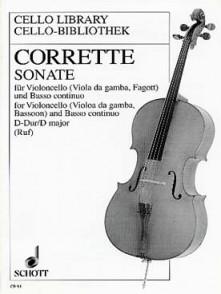 CORRETTE M. SONATE VIOLONCELLE