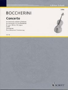 BOCCHERINI L. CONCERTO D MAJOR G 479 VIOLONCELLE