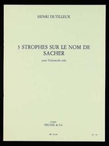 CHARTREUX A. DEPLORATION VIOLONCELLE SOLO