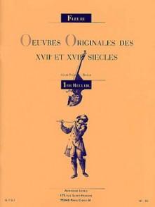 FLEURY OEUVRES ORIGINALES VOL 1 FLUTES