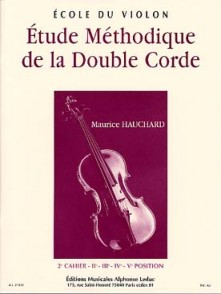 HAUCHARD M. ETUDE METHODIQUE DE LA DOUBLE CORDE VOL 2 VIOLON