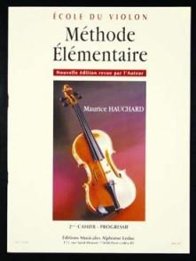 HAUCHARD M. METHODE ELEMENTAIRE VOL 2 VIOLON