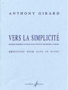 GIRARD A. VERS LA SIMPLICITE ALTO