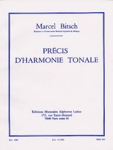 BITSCH M. PRECIS D'HARMONIE TONALE