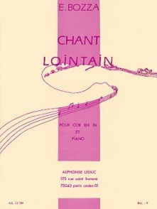 BOZZA E. CHANT LOINTAIN COR EN FA