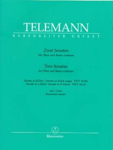 TELEMANN G.P. TWO SONATAS HAUTBOIS