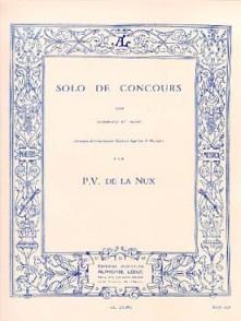 DE LA NUX P.V. SOLO DE CONCOURS TROMBONE