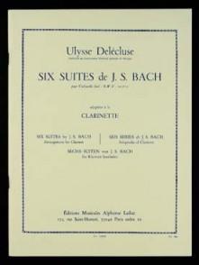 BACH J.S. SIX SUITES CLARINETTE