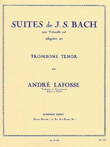 BACH J.S. SUITES TROMBONE TENOR