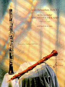 BACH J.S. NUN KOMM DER HEIDEN HEILAND BWV 659 HAUTBOIS