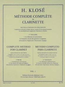 KLOSE H.E. METHODE COMPLETE DE CLARINETTE VOL 2