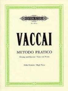 VACCAI N. METHODE PRATIQUE DE CHANT VOIX ELEVEE
