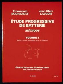 BOURSAULT E./LAJUDIE J.M. METHODE DE BATTERIE VOL 1