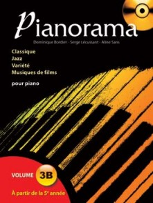 PIANORAMA VOL 3B PIANO