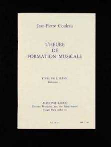 COULEAU J.P. HEURE DE FORMATION MUSICALE D1 ELEVE