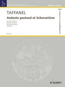 TAFFANEL P. ANDANTE PASTORAL ET SCHERZETTINO FLUTE