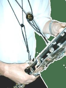 SANGLE CLARINETTE BG C50B BASSE CUIR