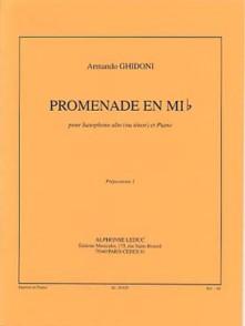 GHIDONI A. PROMENADE EN MIB SAXO