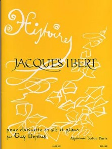 IBERT J. HISTOIRES CLARINETTE