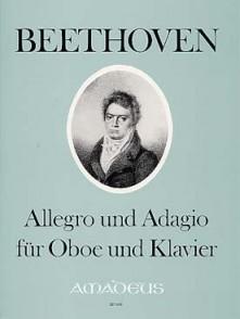 BEETHOVEN L.V. ALLEGRO AND ADAGIO HAUTBOIS
