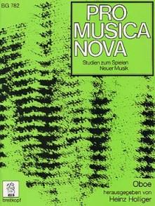 HOLLIGER H. PRO MUSICA NOVA HAUTBOIS