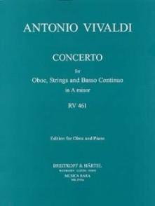 VIVALDI A. CONCERTO RV 461 HAUTBOIS