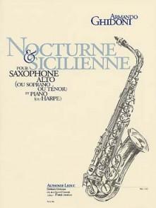 GHIDONI A. NOCTURNE & SICILIENNE SAXO ALTO