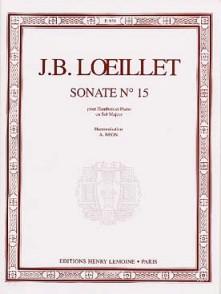 LOEILLET J.B. SONATE SOL MAJEUR HAUTBOIS