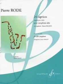 RODE P. 24 CAPRICES SAXO ALTO