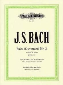 BACH J.S.SUITE (OUVERTURE) N°2 BWV 1067 FLUTE