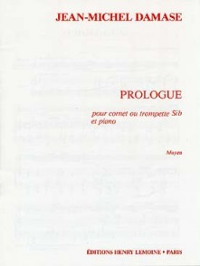DAMASE J.M. PROLOGUE TROMPETTE