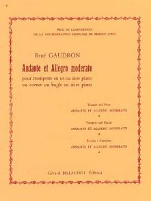 GAUDRON R. ANDANTE ET ALLEGRO MODERATO TROMPETTE