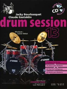 BOURBASQUET J./GASTALDIN C. DRUM SESSION 13 BATTERIE