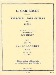 GARIBOLDI G. EXERCICES JOURNALIERS OP 89 FLUTE