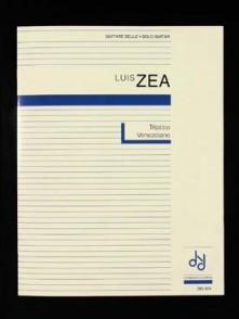ZEA L. TRIPTICO VENEZOLANO GUITARE