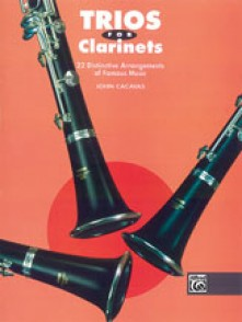 CACAVAS J. TRIOS FOR CLARINETS