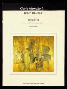 BICHET R. DESERT II HAUTBOIS SOLO