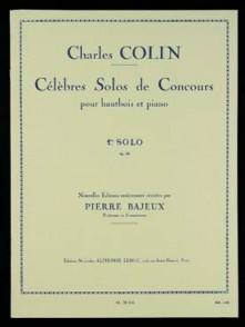 COLIN C.J. 1ER SOLO OP 33 HAUTBOIS