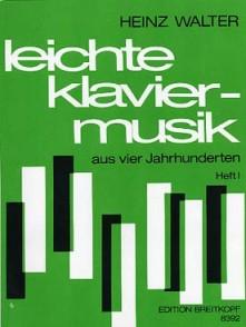 WALTER H. LEITCHE KLAVIERMUSIK VOL 1 PIANO