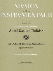 DANICAN-PHILIDOR A. CONTRE DANSES ANGLOISES HAUTBOIS