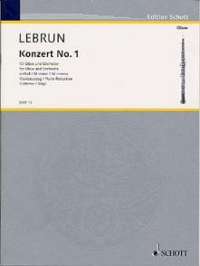 LEBRUN L.A. CONCERTO N°1 HAUTBOIS